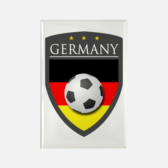 Germany Soccer Patch Rectangle Magnet