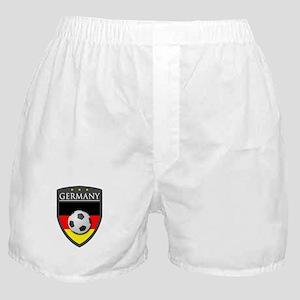Germany Soccer Patch Boxer Shorts