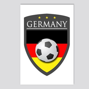 Germany Soccer Patch Postcards (Package of 8)