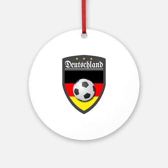 Germany (Deutsch) Ball Ornament (Round)