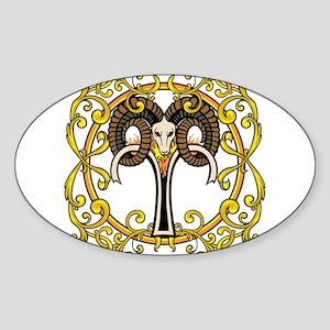 Aries Sticker (Oval)