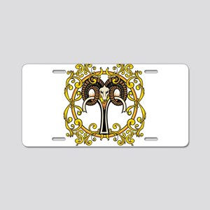 Aries Aluminum License Plate