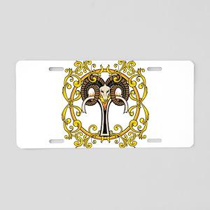 Aries Aluminum License Plate