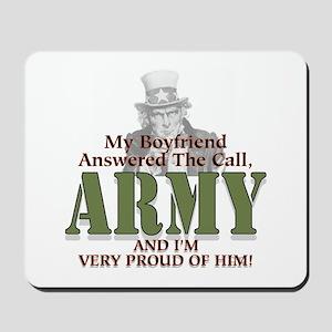 Army Boyfriend Mousepad