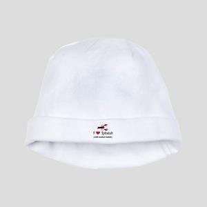 I Love Lobstah baby hat