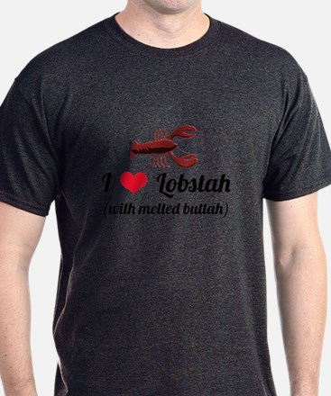 I Love Lobstah T-Shirt