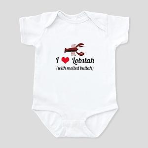 I Love Lobstah Infant Bodysuit