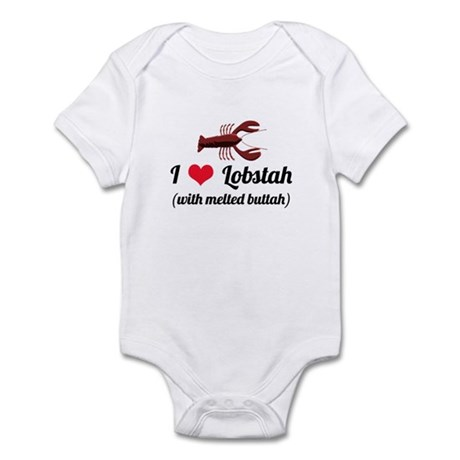 I Love Lobstah Infant Bodysuit