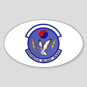 District 45 Oval Sticker