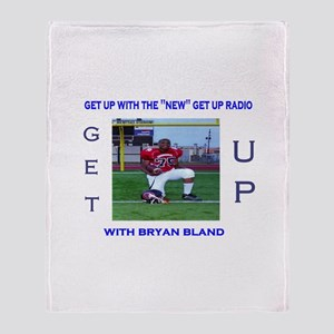 get up radio co-hosts Throw Blanket
