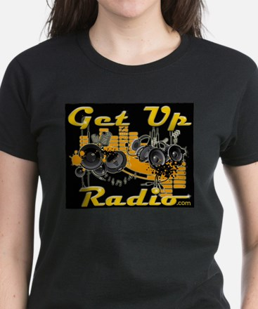 get up radio co-hosts Women's Dark T-Shirt