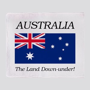 Australian Flag Throw Blanket