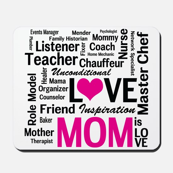 Do it All Mom, Mother's Day, Birthday Mousepad