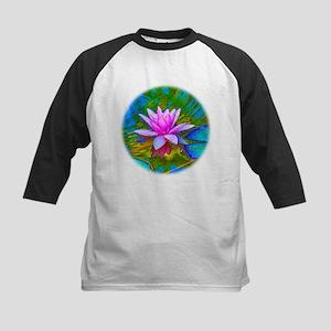 Waterlily, Lotus, Lilypad Kids Baseball Jersey