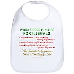 Jobs for Illegals Bib