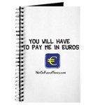 Pay Me In Euros Journal