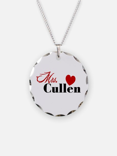 Mrs. Edward Cullen Necklace
