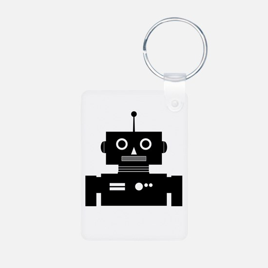 Retro Robot Shape Keychains