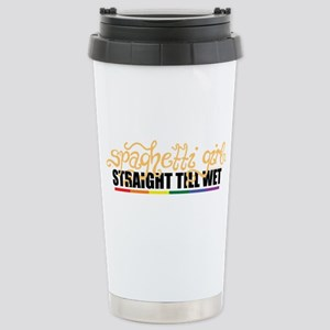 L Word: Spaghetti Girl Stainless Steel Travel Mug