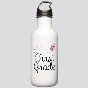 Special 1st Grade Butterfly Stainless Water Bottle