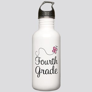 Butterfly Fourth Grade Stainless Water Bottle 1.0L