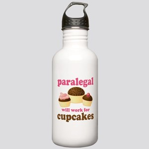 Funny Paralegal Stainless Water Bottle 1.0L