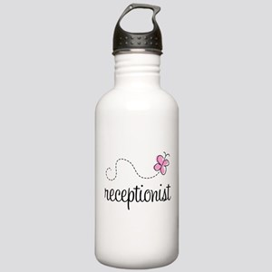 Pretty Receptionist Stainless Water Bottle 1.0L