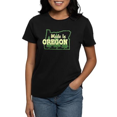 Made In Oregon Women's Dark T-Shirt
