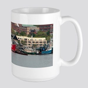 Palmer Island Lighthouse Large Mug