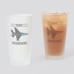 Pilots: How We Roll Pint Glass