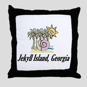 Palm Trees 1 Throw Pillow