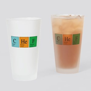 Chemist Chef Pint Glass