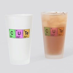 Cute Periodic Pint Glass