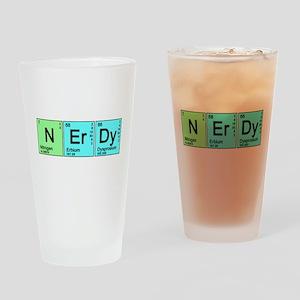 Periodic Nerd Pint Glass