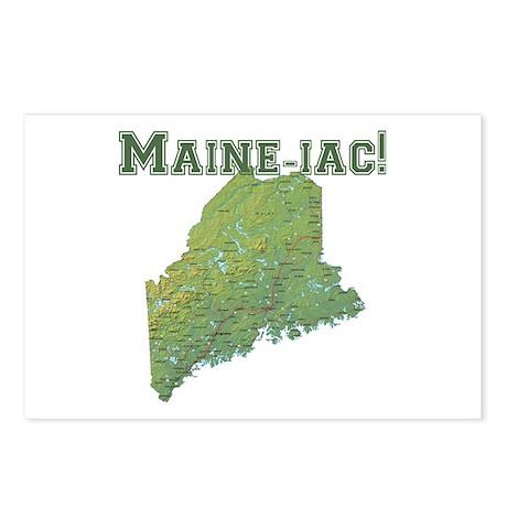 Maine-iac Postcards (Package of 8)