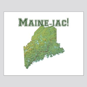 Maine-iac Small Poster