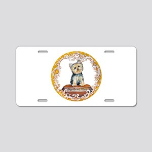 Yorkie Significant Other Aluminum License Plate