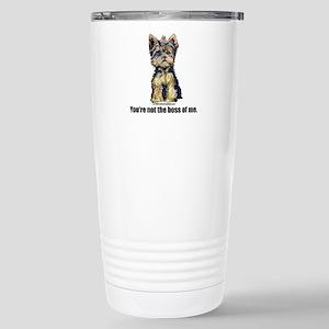 Yorkshire Terrier - Yorkie Bo Stainless Steel Trav