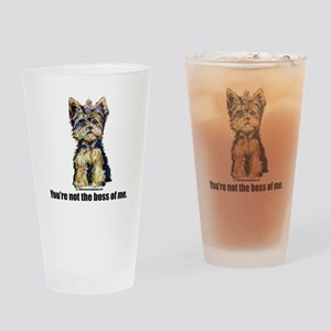 Yorkshire Terrier - Yorkie Bo Pint Glass