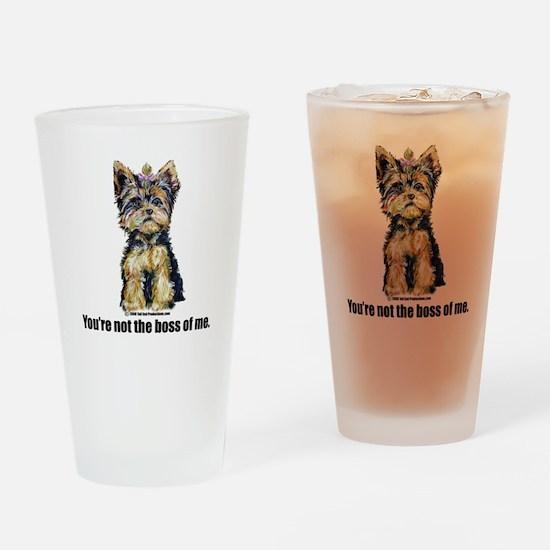Yorkshire Terrier - Yorkie Bo Pint Glass