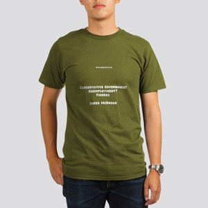 Unemployment Under Tories Men's T-Shirt (dark)