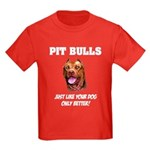 Pit Bulls Kids Dark T-Shirt