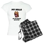 Pit Bulls Women's Light Pajamas