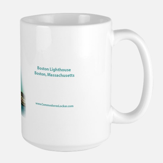 Boston Lighthouse Large Mug
