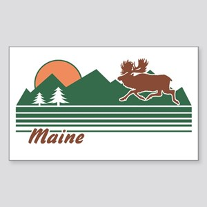 Maine Sticker (Rectangle)