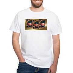 Car Poster White T-Shirt
