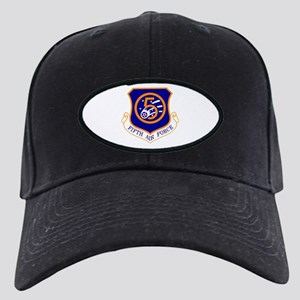 Fifth Air Force Black Cap