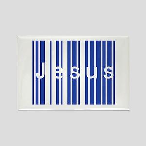 Jesus Code Rectangle Magnet
