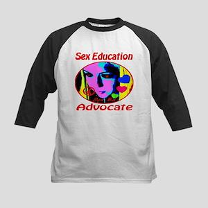 Sex Education Advocate Kids Baseball Jersey
