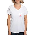Pay Me In Yen Women's V-Neck T-Shirt